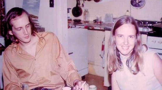 David and Kay in the 70s